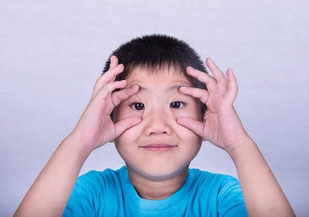 Specialty Contact Lens Fitting in Children image