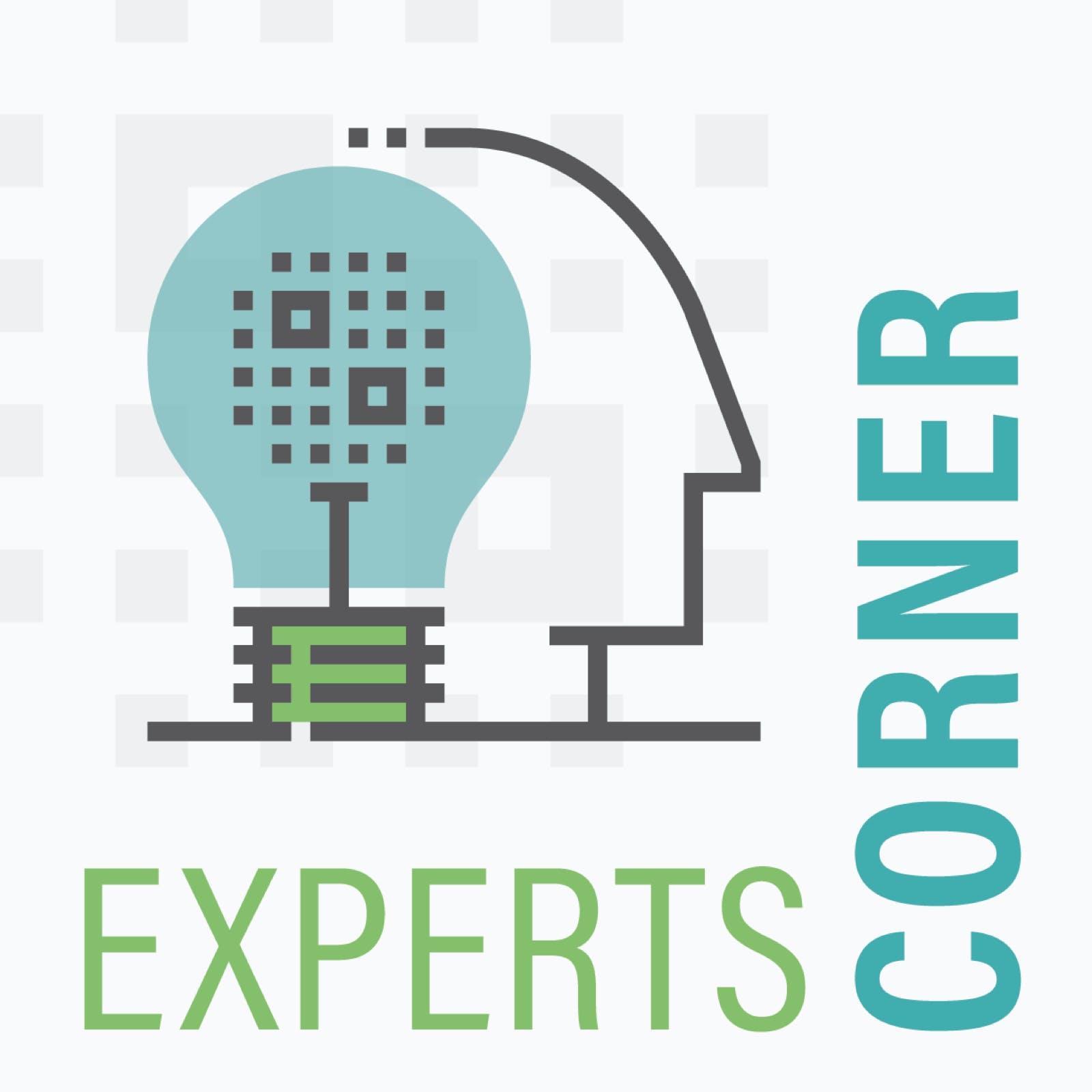 Experts Corner Podcast Art