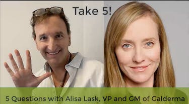 Aesthetics Insider: Take 5 with Alisa Lask of Galderma thumbnail